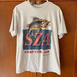 Camp CTRL SZA Merch Shirt, TDE